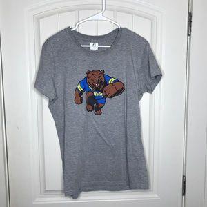 UCLA Bruins Gray Short Sleeve T Shirt